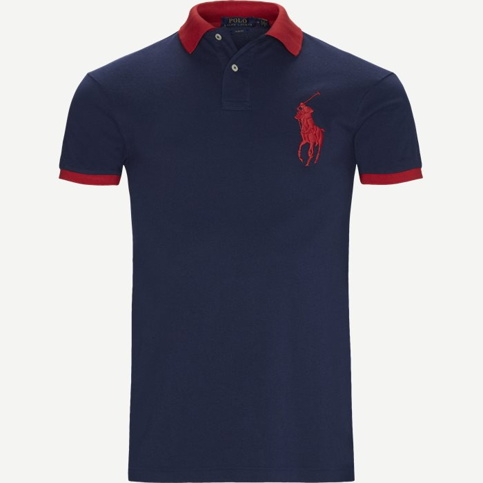 Big Pony Polo Shirt - T-shirts - Slim - Blå