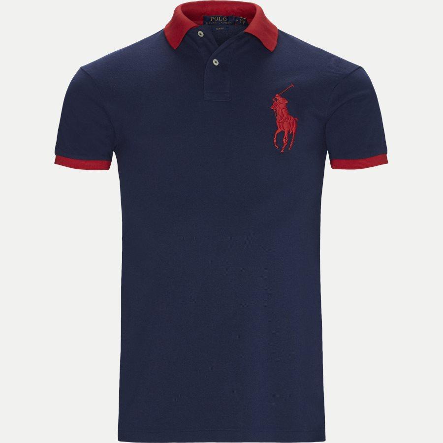 710524117 - Big Pony Polo Shirt - T-shirts - Slim - NAVY - 1