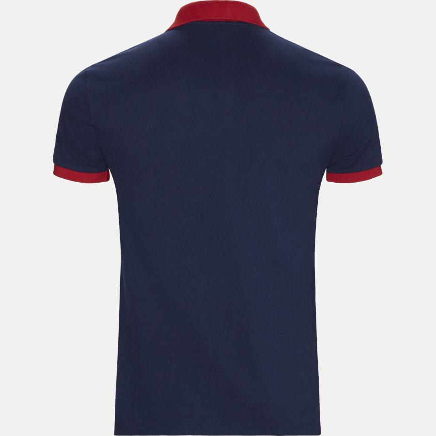 710524117 - Big Pony Polo Shirt - T-shirts - Slim - NAVY - 2