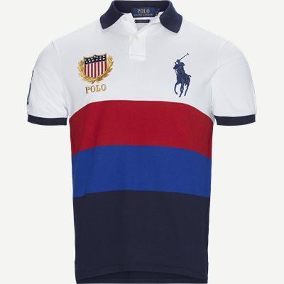 Big Pony Logo Polo T-shirt Regular slim fit   Big Pony Logo Polo T-shirt   Blå