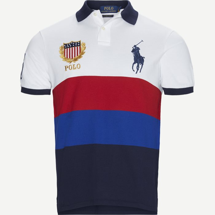 Big Pony Logo Polo T-shirt - T-shirts - Regular slim fit - Blå