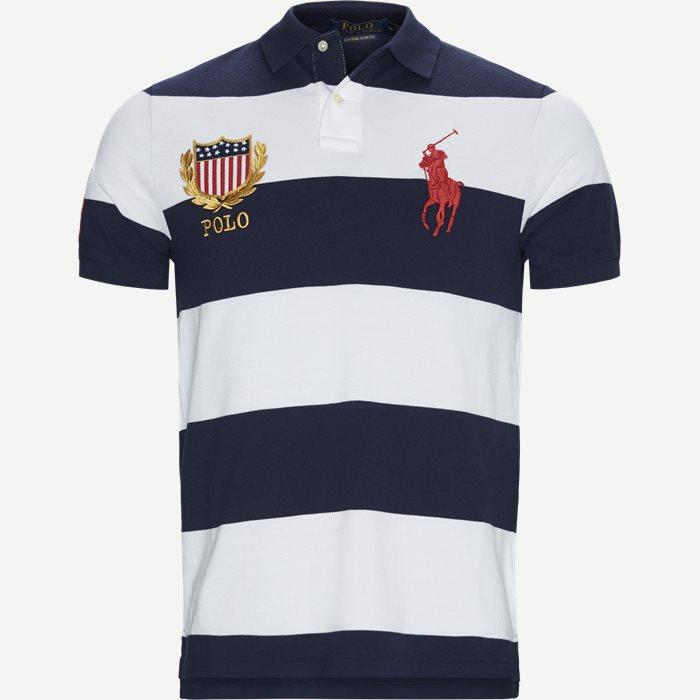 M Classics 1 Polo T-shirt - T-shirts - Regular slim fit - Blå