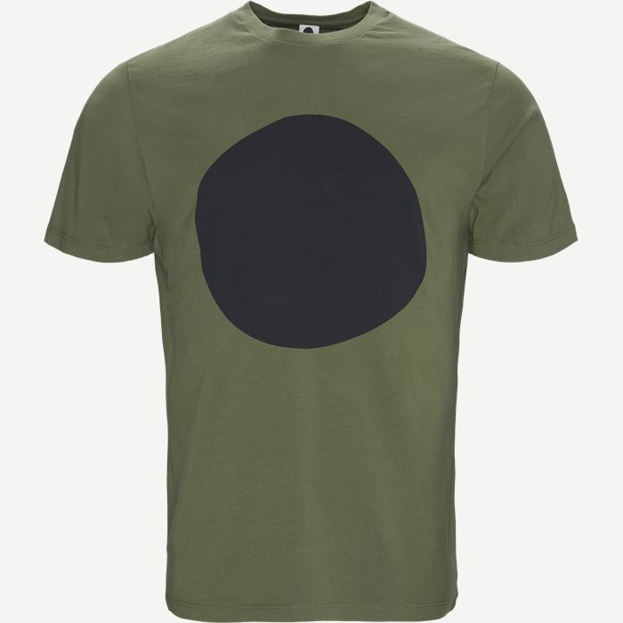 Mauro Print T-shirt - T-shirts - Regular - Army