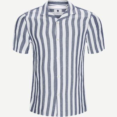 Miagy Kortærmet Skjorte Regular | Miagy Kortærmet Skjorte | Blå