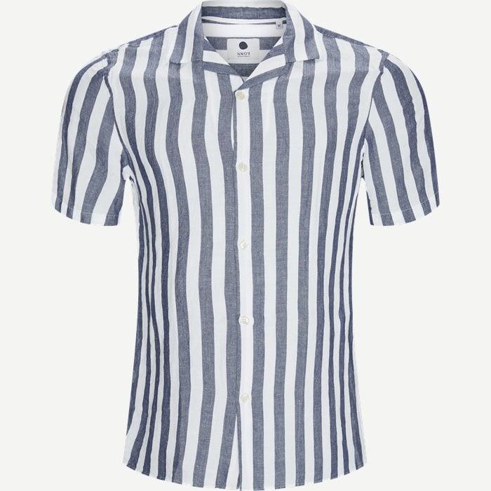 Miagy Kortærmet Skjorte - Kortærmede skjorter - Regular - Blå