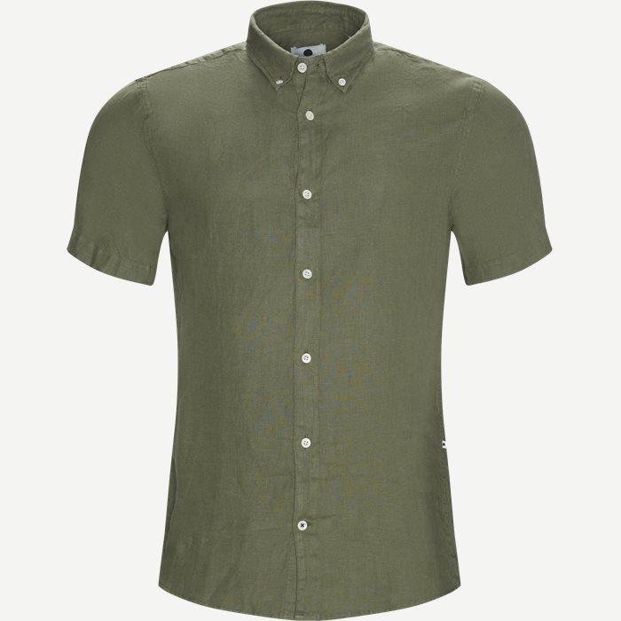 SH New Derek Skjorte - Kortærmede skjorter - Regular - Army