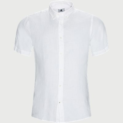 Regular | Short-sleeved shirts | White