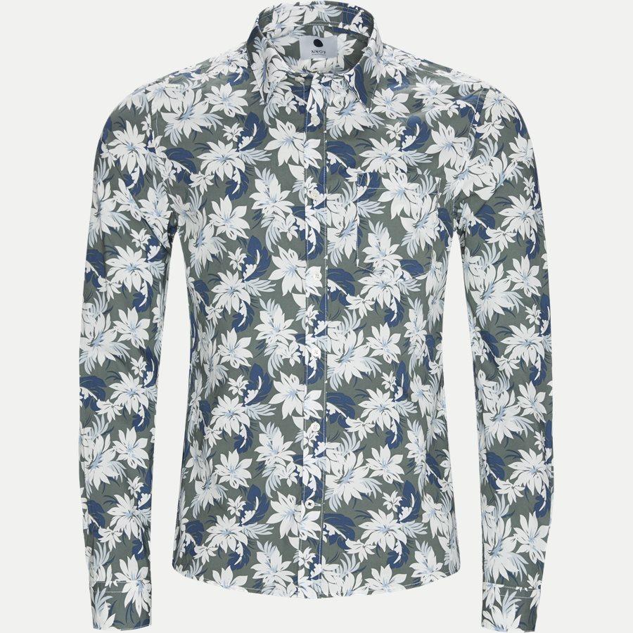 LEON 5144 - Leon Skjorte - Skjorter - Regular - ARMY - 1