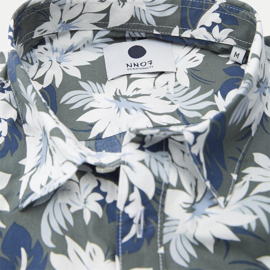 LEON 5144 - Leon Skjorte - Skjorter - Regular - ARMY - 4