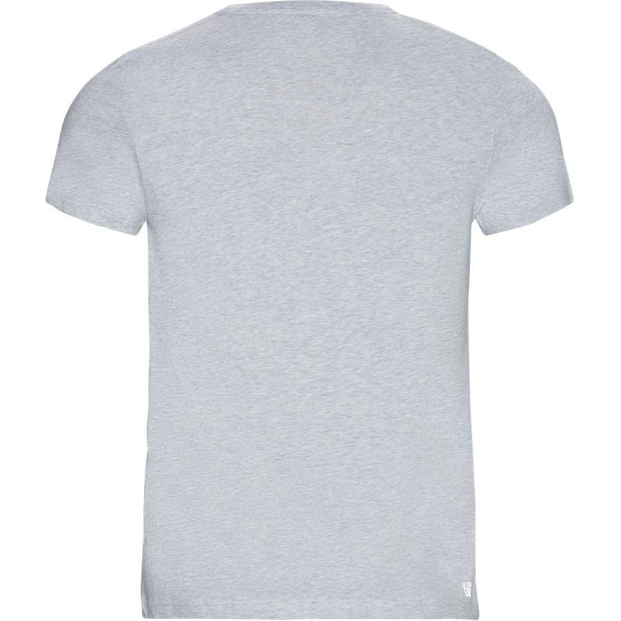 TH3377 - TH3377 Oversized Crocodile Technical Jersey Tennis T-shirt - T-shirts - Regular - GRÅ - 2