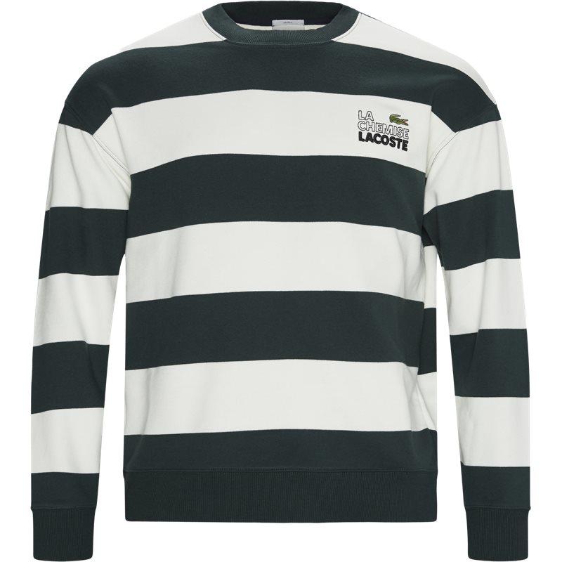 Lacoste sh8142 sweatshirts grøn fra lacoste på quint.dk