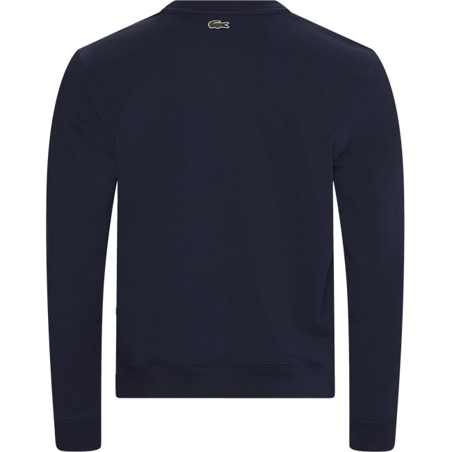 Embroidered Multicolour Signature Fleece Sweatshirt