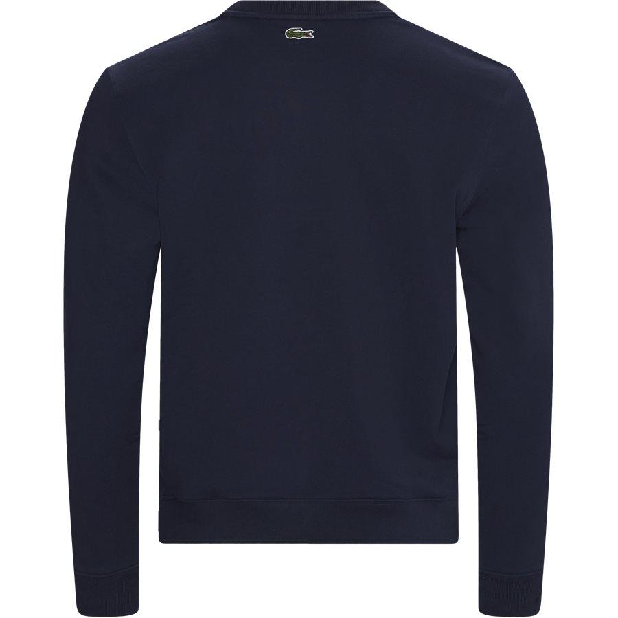 SH8583 - Embroidered Multicolour Signature Fleece Sweatshirt - Sweatshirts - Regular - NAVY - 2
