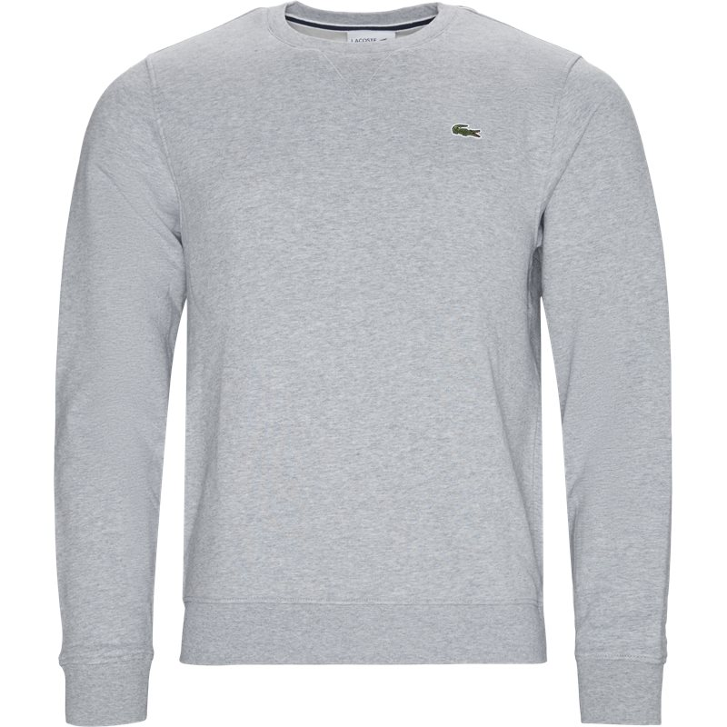 lacoste Lacoste sh7613 crewneck sweatshirt grå fra quint.dk