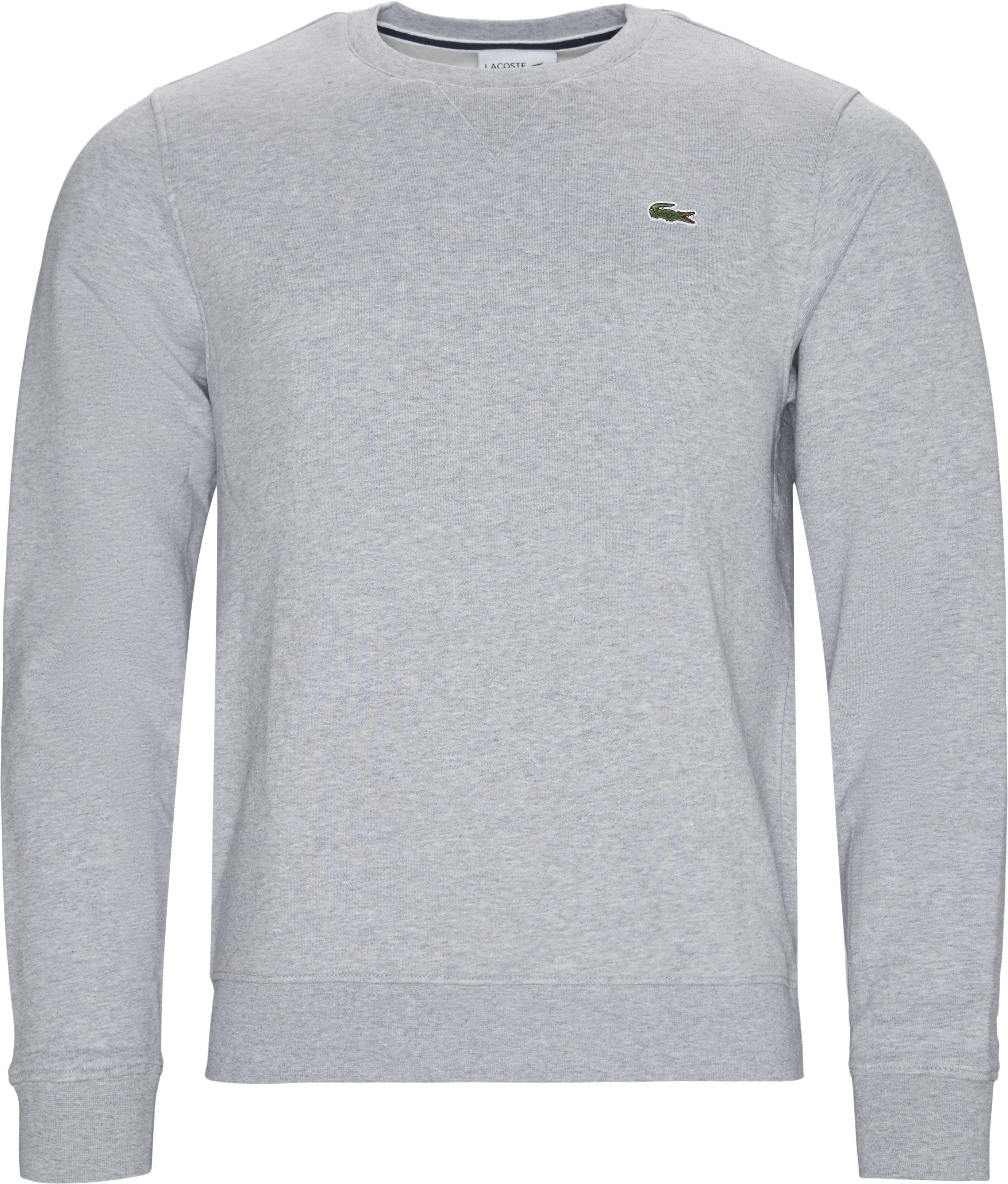 SH7613 Crewneck Sweatshirt - Sweatshirts - Regular - Grå