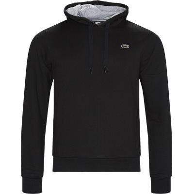 Sport Hooded Fleece Tennis Sweatshirt Regular | Sport Hooded Fleece Tennis Sweatshirt | Sort