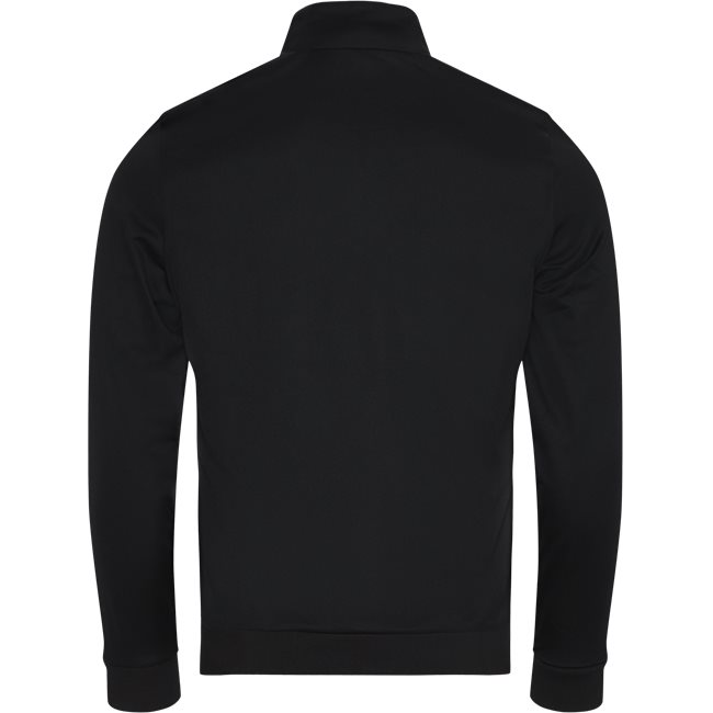 Signature Band Piqué Zip Sweatshirt