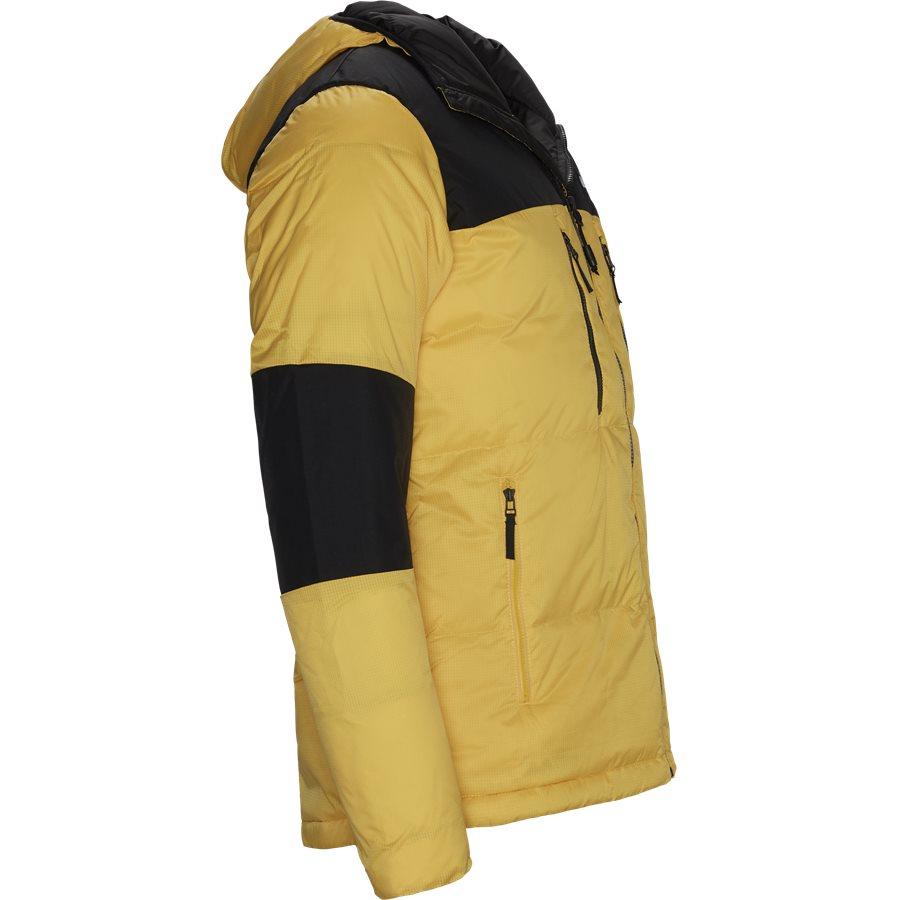 HIMALAYA DOWN - Himalaya Light Down Hood Jacket  - Jakker - Regular - GUL - 4