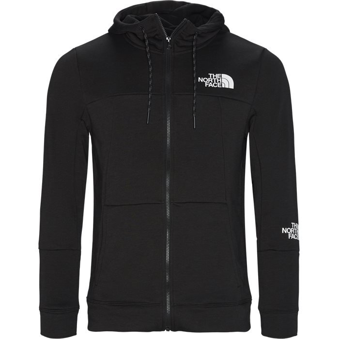 Mountain Light Full Zip Sweatshirt - Sweatshirts - Regular - Sort