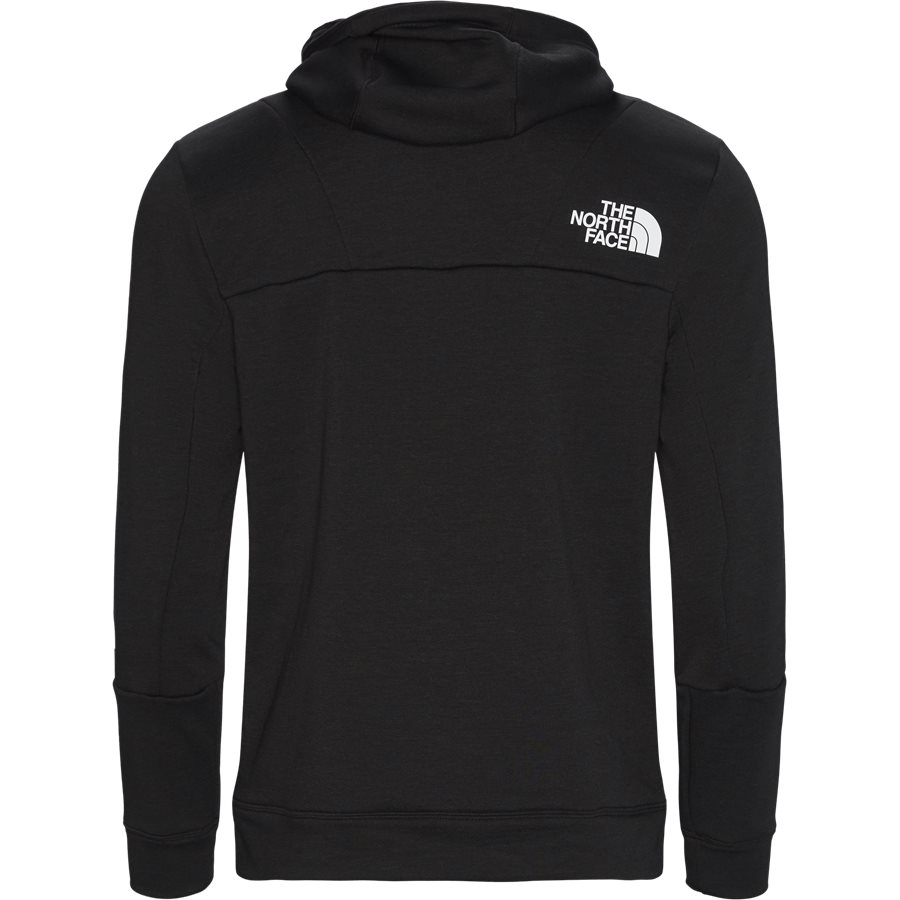 MOUNTAIN LIGHT FZ - Mountain Light Full Zip Sweatshirt - Sweatshirts - Regular - SORT - 2
