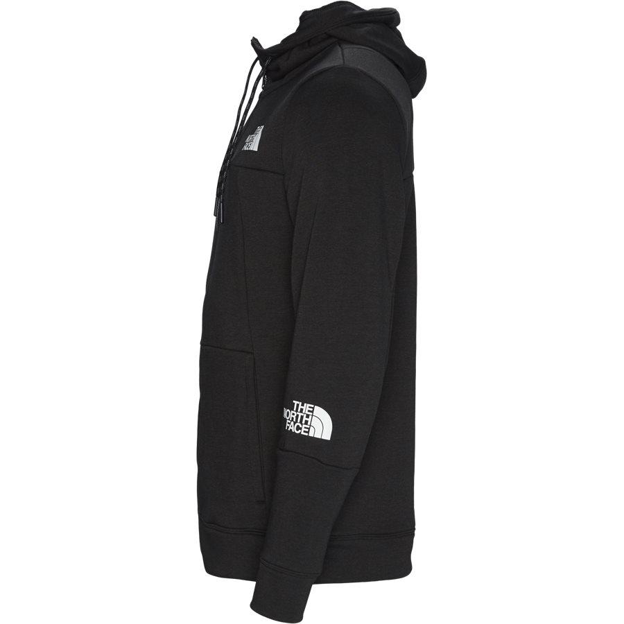 MOUNTAIN LIGHT FZ - Mountain Light Full Zip Sweatshirt - Sweatshirts - Regular - SORT - 3