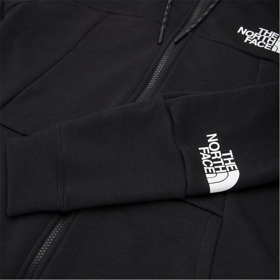 MOUNTAIN LIGHT FZ - Mountain Light Full Zip Sweatshirt - Sweatshirts - Regular - SORT - 6