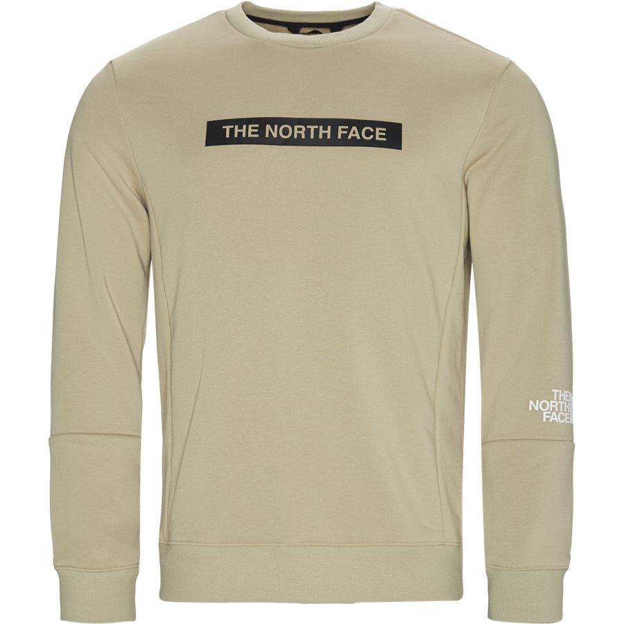 LIGHT CREW - Light Crewneck Sweatshirt - Sweatshirts - Regular - SAND - 1
