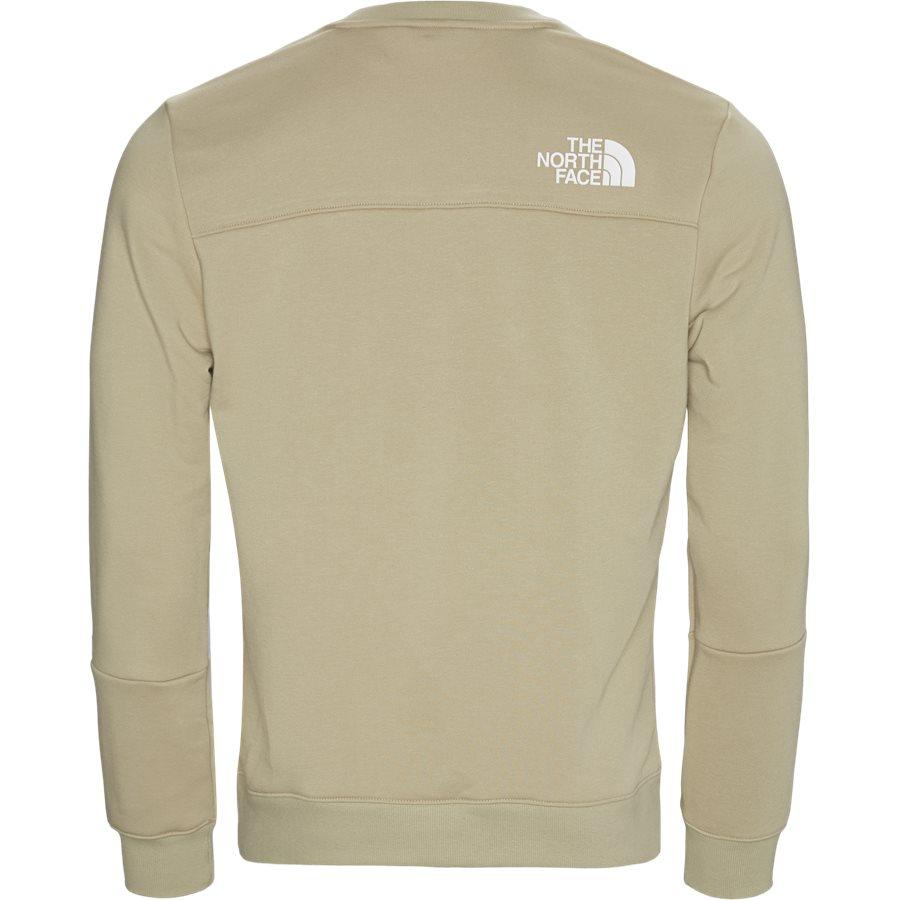 LIGHT CREW - Light Crewneck Sweatshirt - Sweatshirts - Regular - SAND - 2