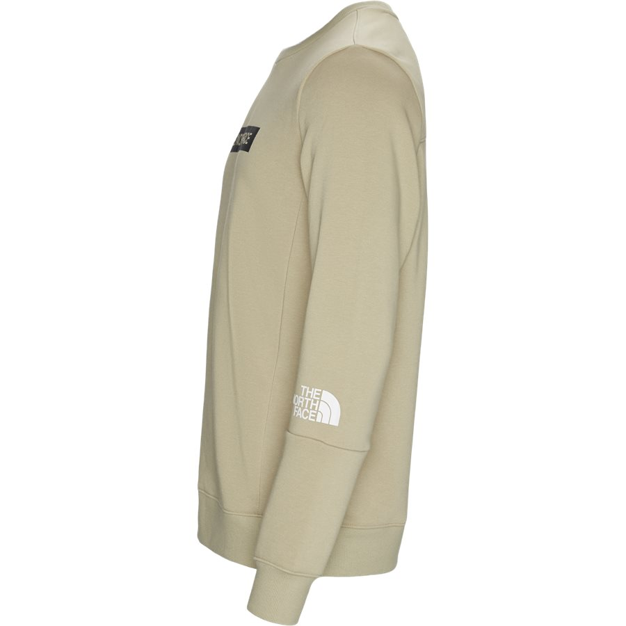 LIGHT CREW - Light Crewneck Sweatshirt - Sweatshirts - Regular - SAND - 3
