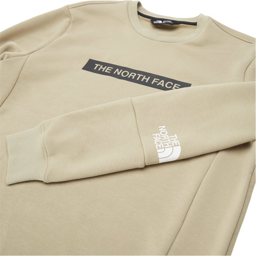 LIGHT CREW - Light Crewneck Sweatshirt - Sweatshirts - Regular - SAND - 6