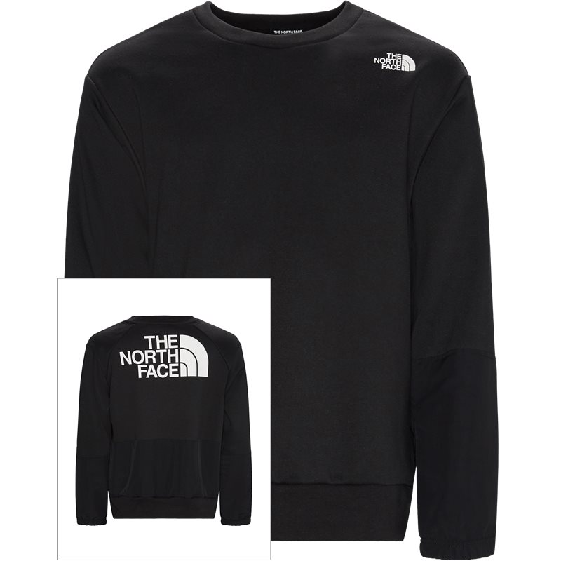 the north face – The north face graphic ls crew sort på quint.dk