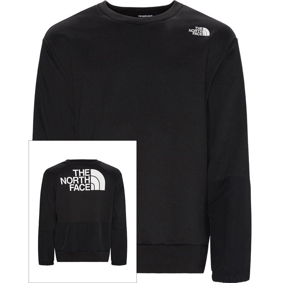 NSE CREW - Graphic LS Crew - Sweatshirts - Regular - SORT - 1