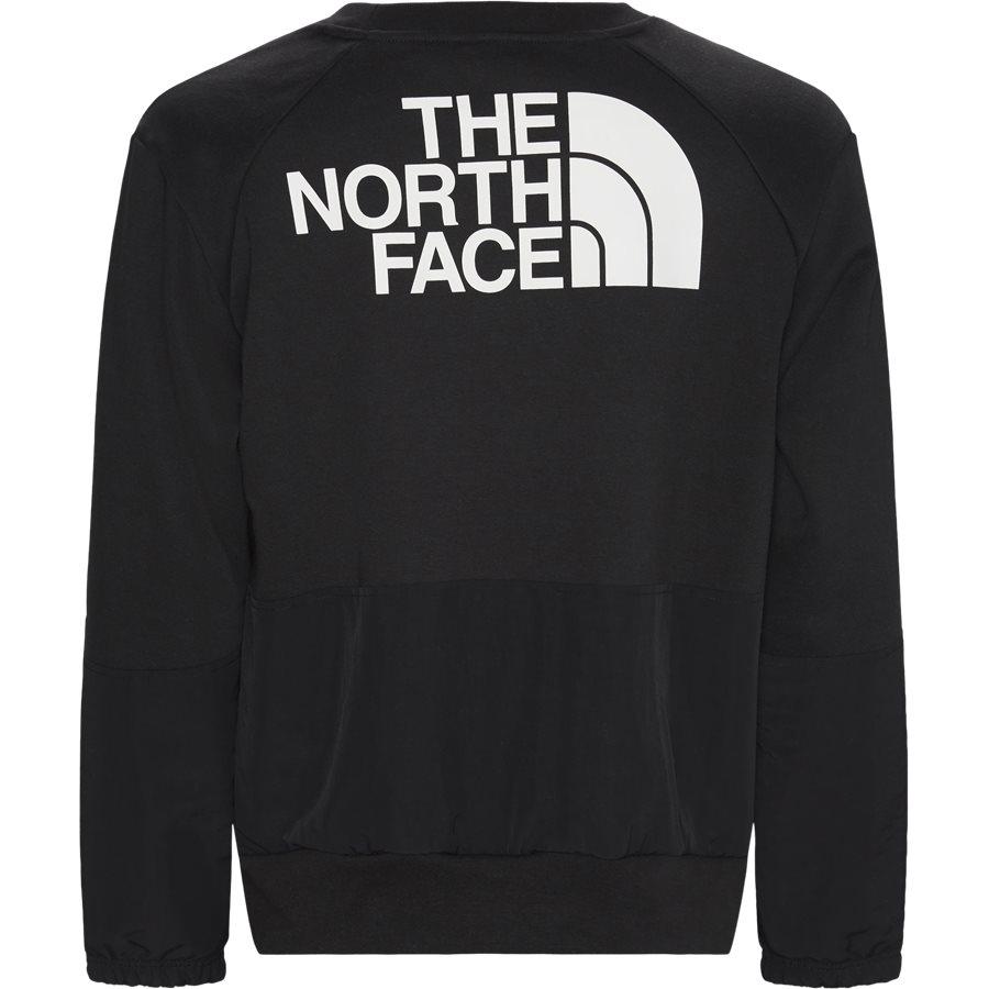NSE CREW - Graphic LS Crew - Sweatshirts - Regular - SORT - 3