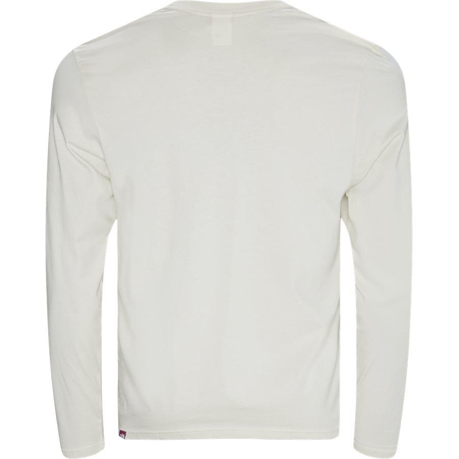 FINE TEE LS T937 - T-shirts - HVID/PINK - 2