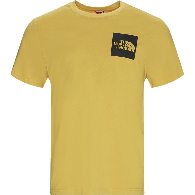 the north face – The north face fine tee ss gul på quint.dk