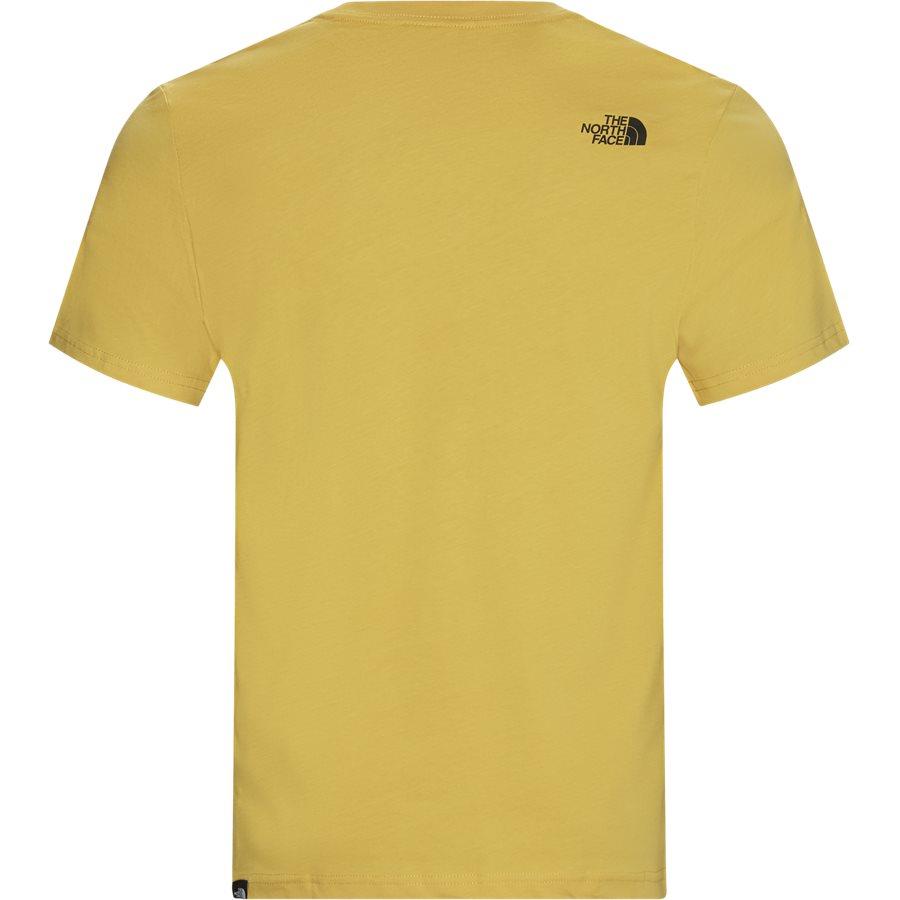 FINE TEE SS T0CE - Fine Tee SS - T-shirts - Regular - GUL - 2