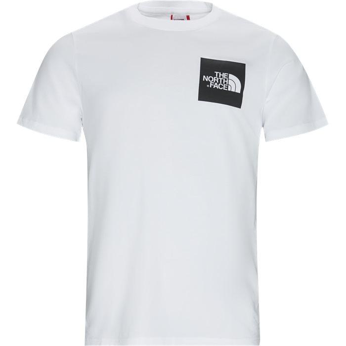 Fine Tee SS - T-shirts - Regular - Hvid