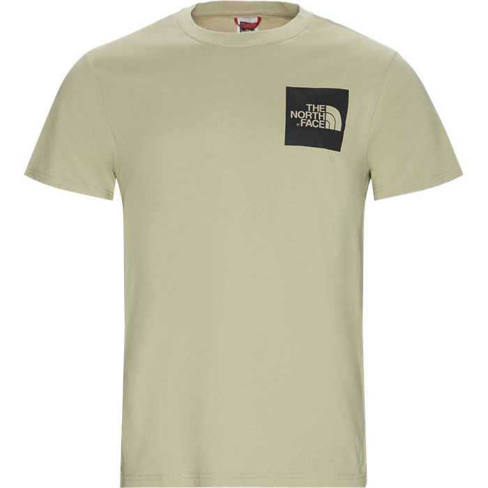 Fine Tee SS - T-shirts - Regular - Sand