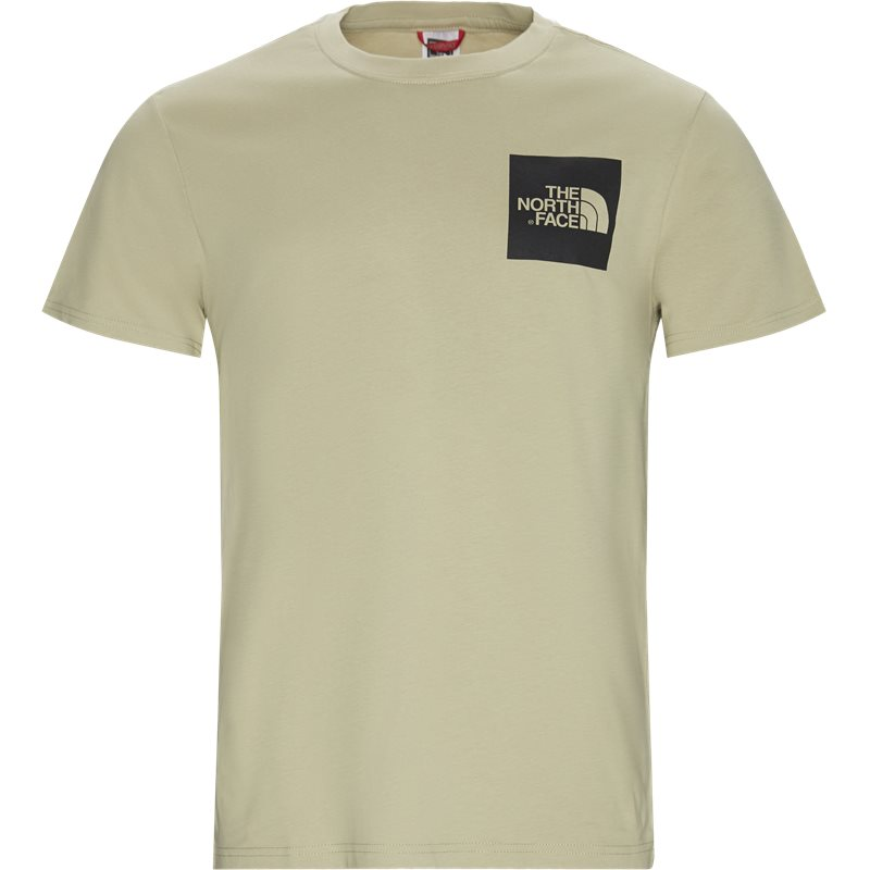 The North Face Fine Tee Ss Sand