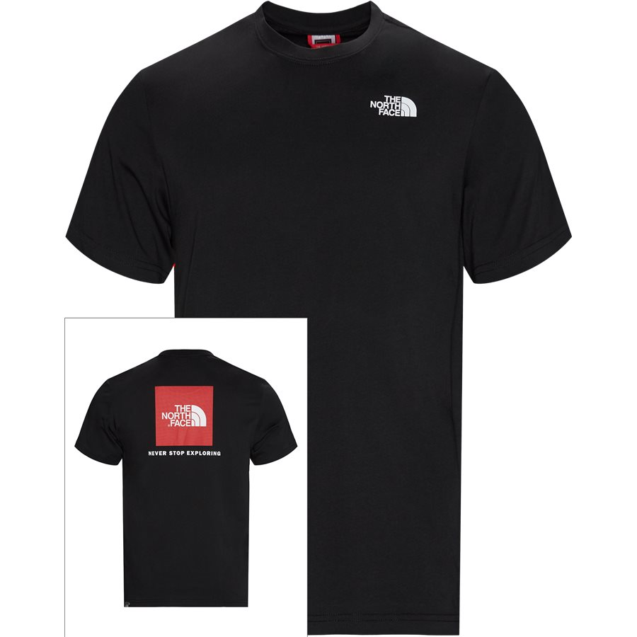 RED BOX TEE SS T92T - Red Box Tee - T-shirts - Regular - SORT - 1
