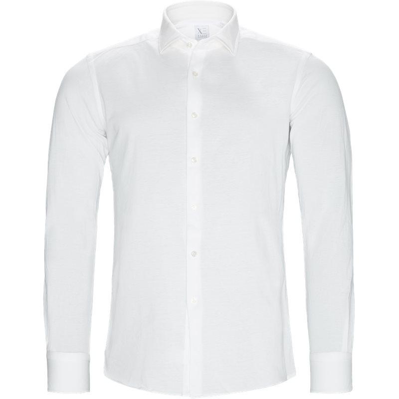 xacus – Xacus slim 41468 j748 w skjorter white fra axel.dk