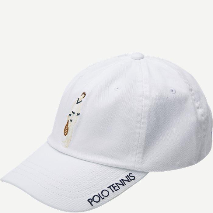 Wimbledon Ret White Hat - Caps - Hvid