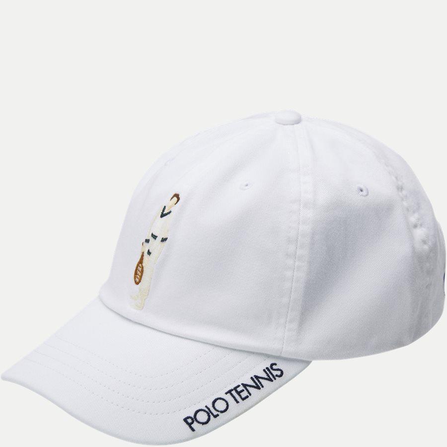 710749907 - Wimbledon Ret White Hat - Caps - HVID - 1