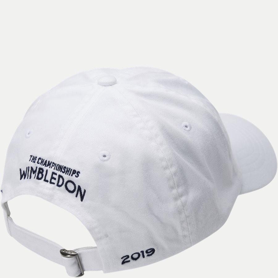 710749907 - Wimbledon Ret White Hat - Caps - HVID - 2