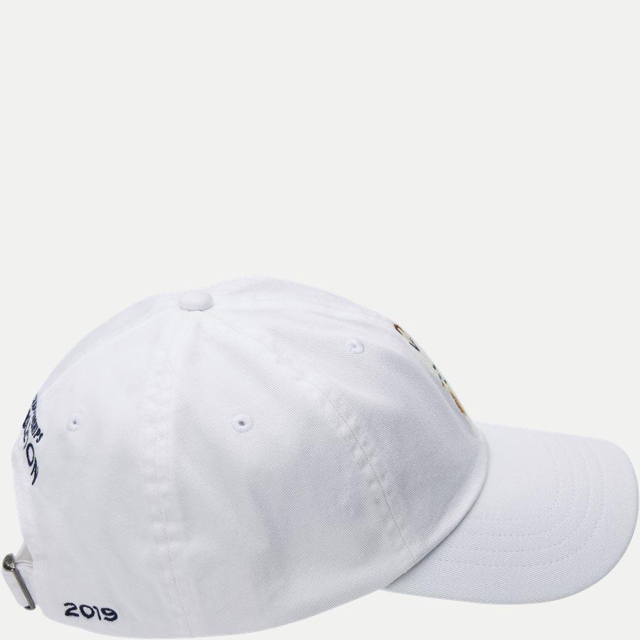 710749907 - Wimbledon Ret White Hat - Caps - HVID - 4
