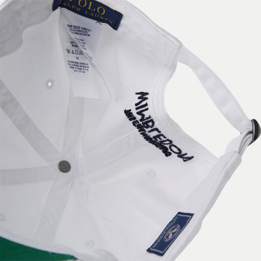 710749907 - Wimbledon Ret White Hat - Caps - HVID - 8