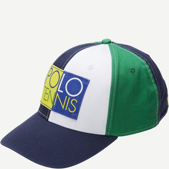 M Wimbledon Ret Multi Hat - Caps - Blå