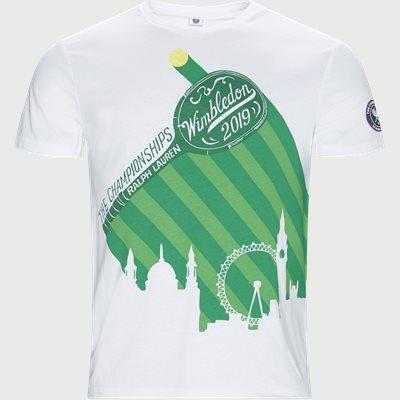 Wimbledon Ret T-shirt Regular | Wimbledon Ret T-shirt | Hvid