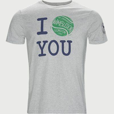 Wimbledon Ret T-shirt Regular | Wimbledon Ret T-shirt | Grå