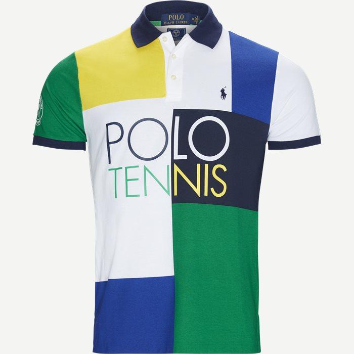 M Wimbledon Ret Polo T-shirt - T-shirts - Regular - Hvid